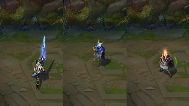 Νέα Cosmic skins σε Rakan, Xayah και Master Yi