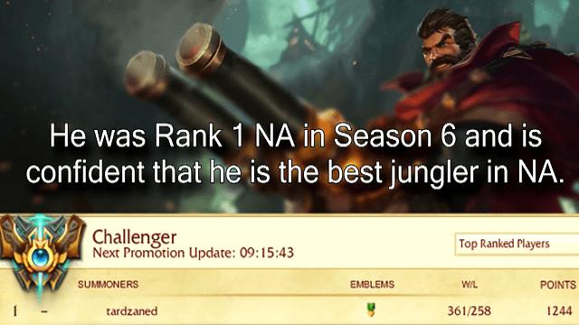 O Tarzaned αναλύει το ρόλο του Jungle στο Patch 7.7