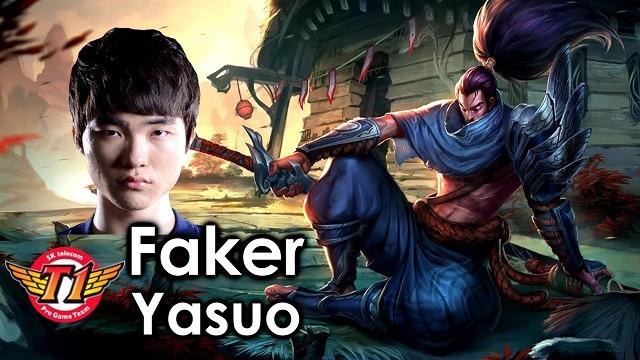 Όταν ο Faker επιλέγει να παίξει Yasuo
