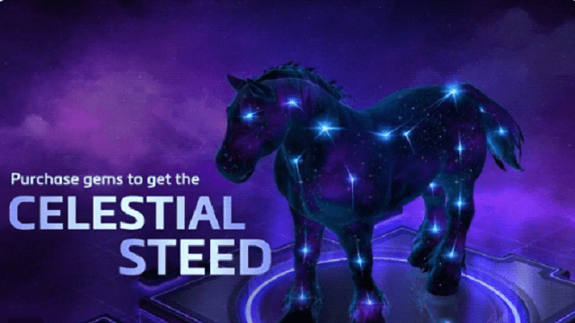 Celestial steed mount