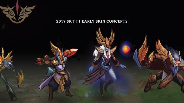 SKT Skins 2017