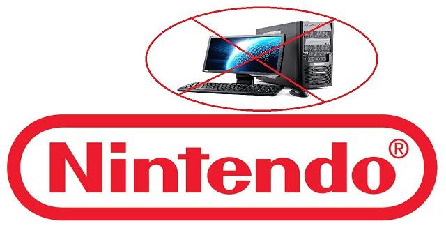 Η Nintendo ανακοίνωσε ότι δεν σκοπεύει να εκδώσει τίτλους της στον υπολογιστή!