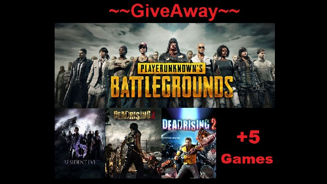 Giveaway  PLAYERUNKNOWN'S BATTLEGROUNDS Steam Key +9 Games