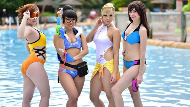 Δείτε μερικά Fan-made Overwatch Summer skins