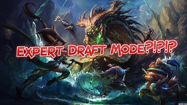 Expert Draft Mode – Καινούργιο πιθανό game mode?