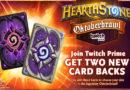 Το νέο Hearthstone event Oktoberbrawl προσφέρει δύο card backs σε όλους τους συνδρομητές του Twitch Prime.