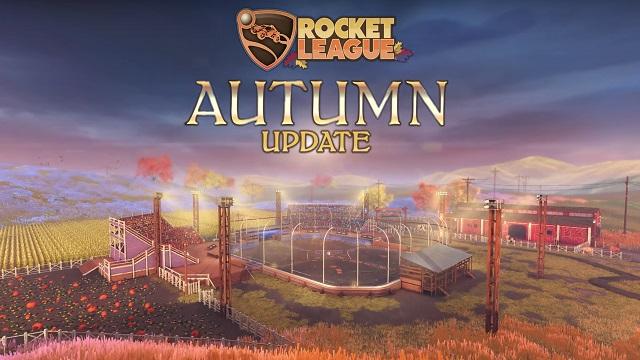Το φθινοπωρινό Update του Rocket League είναι εδώ .