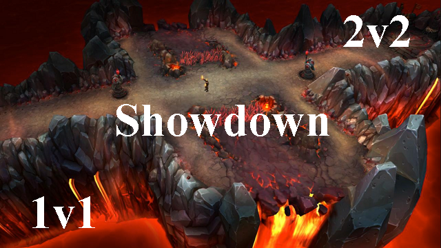 1v1 και 2v2 Showdown?