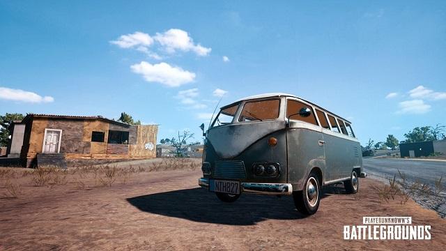 Να το Van του PUBG,Ότι πιο βολικό για squad