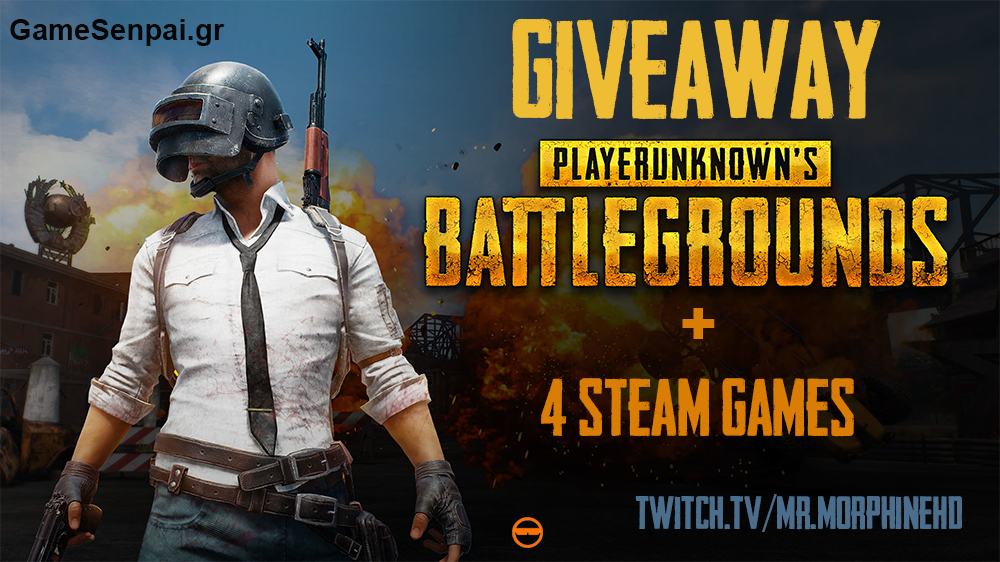 Giveaway PUBG Steam Key + 4 Steam Games