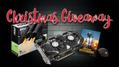 Christmas Giveaway – 1050ti+pubg – keyboards , mouse, Anime T-Shirts και πολλά ακόμα δώρα.