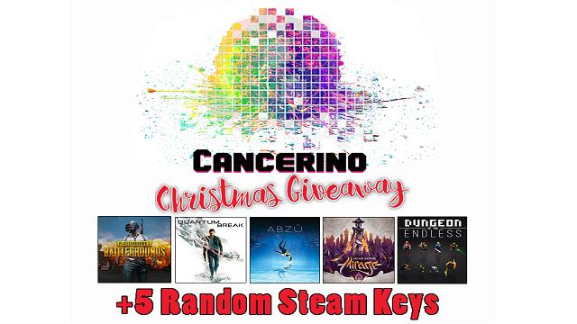 CancerinoGr Extra Giveaway με 10 παιχνίδια