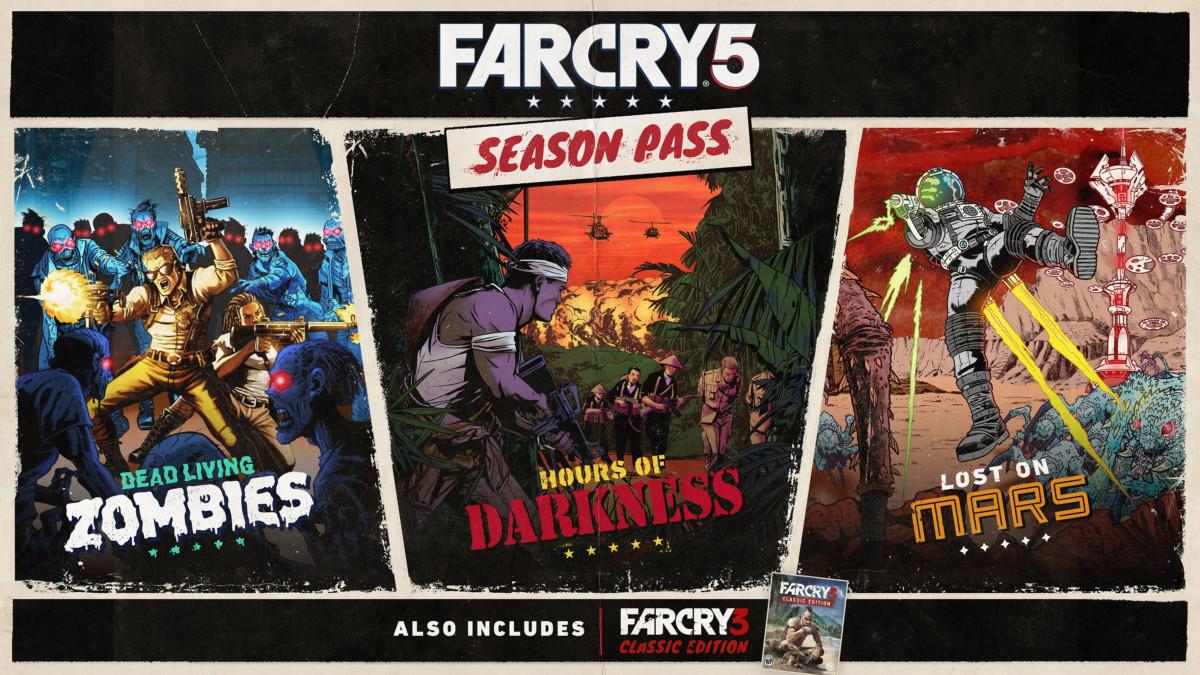 Ανακοινώθηκαν οι λεπτομέρειες του Season Pass για το Far Cry 5