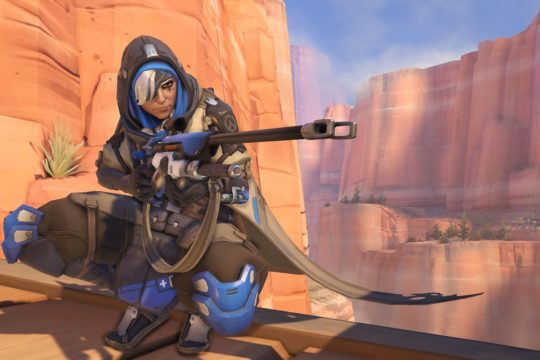 Ana reporting for duty on Heroes of the Storm