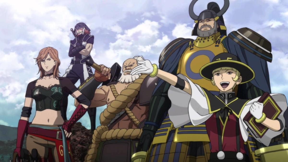 Νέο spin-off anime του Sengoku Basara!