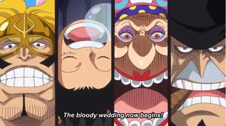 """One Piece – Ανασκόπηση του επεισοδίου 831: """"Το κατεστραμμένο ζευγάρι! Ο Sanji και η Pudding καταφτάνουν!"""""""