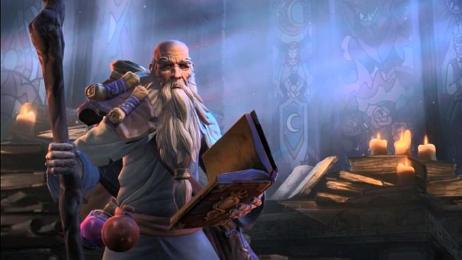 Deckard Cain guides us through Heroes of the Storm