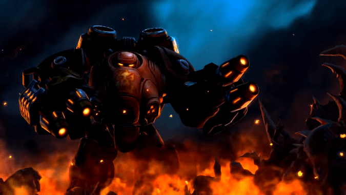 Blaze is up and running on Heroes of the Storm!