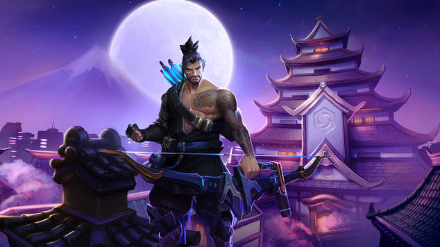 Heroes of the Storm: Hanzo is here!