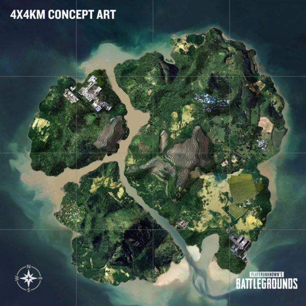 Καταργείται το map selection του PlayerUnknown's Battlegrounds