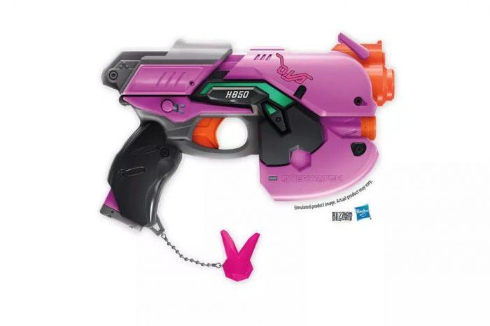 Η νέα σειρά Overwatch Nerf weapon προσθέτει στην συλλογή της το blaster της D.Va's