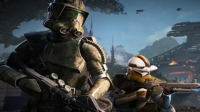 Star Wars Battlefront 2 Elite Corps