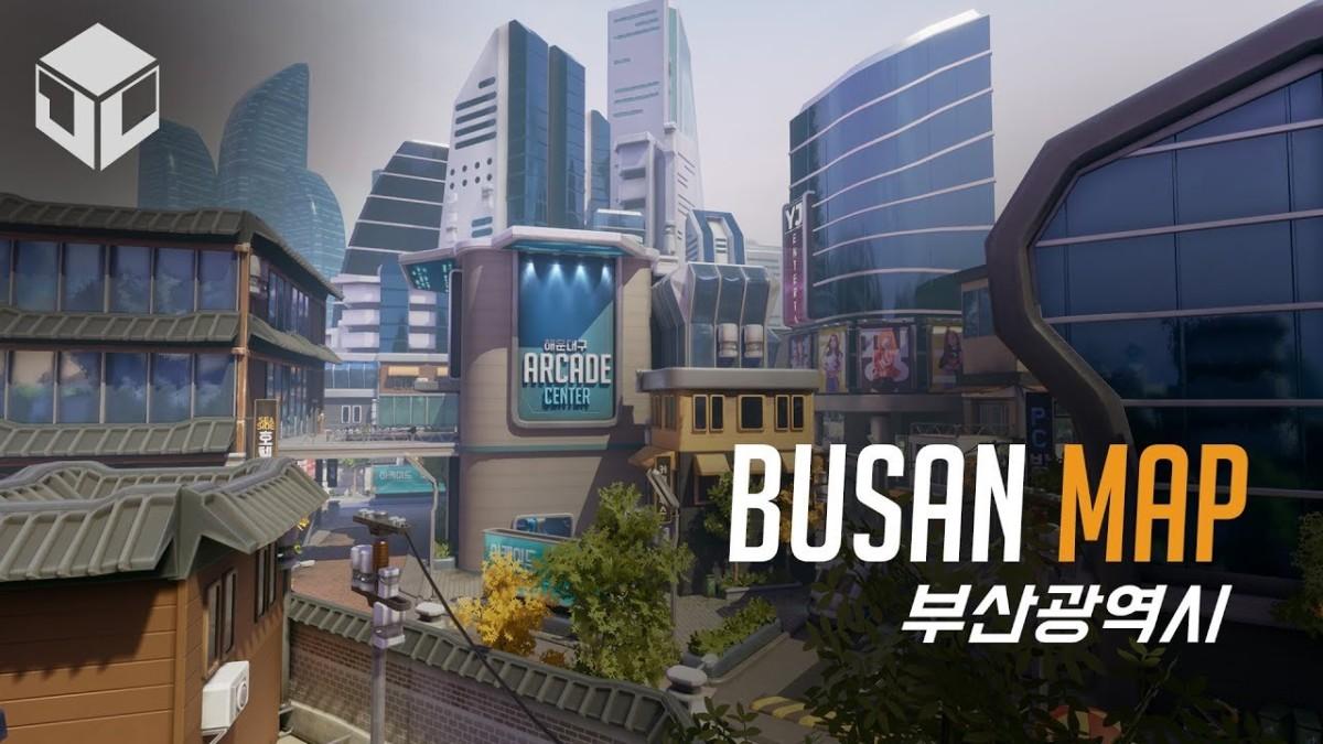 Νέο map Busan + animated short