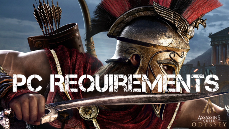 Τα Pc Requirements για Assassin's Creed Odyssey