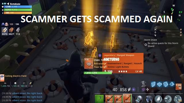 Νέο scammer gets scammed