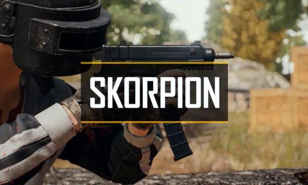 Skorpion το νέο full auto handgun στο PUBG