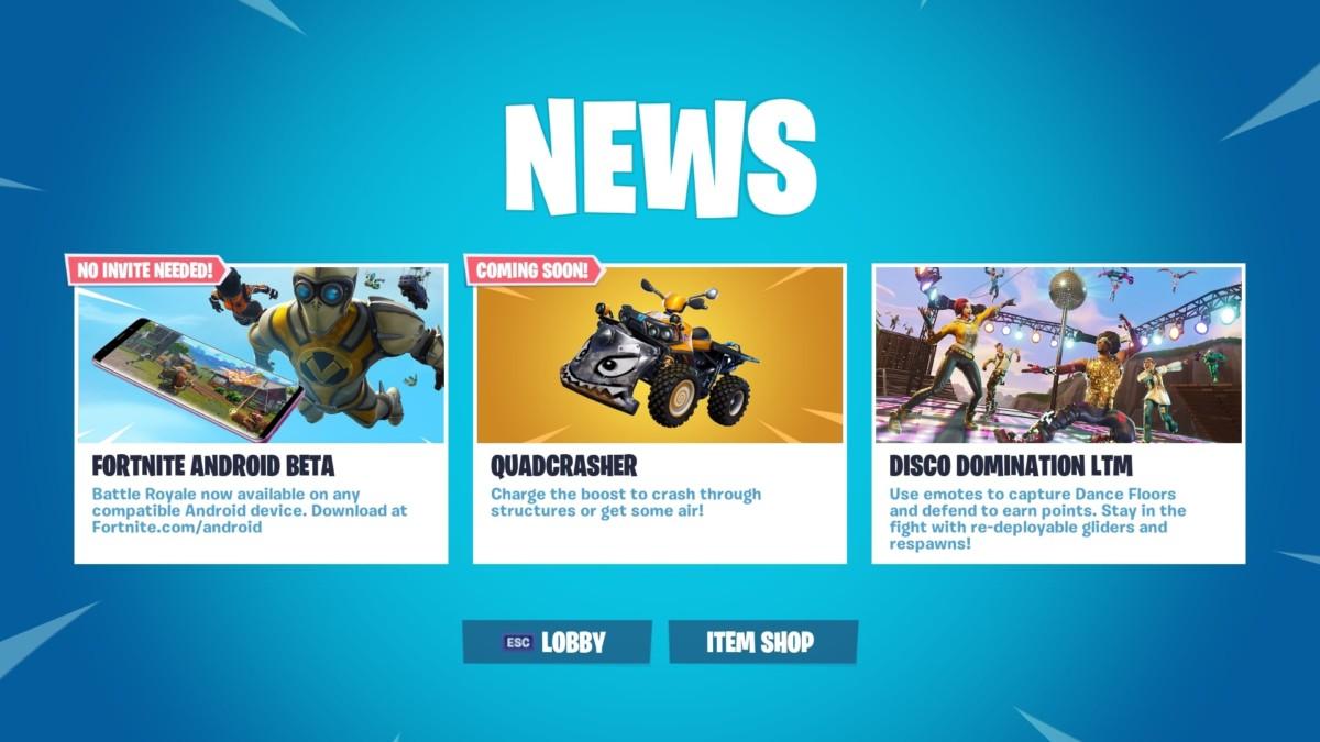 Η Epic Games ανακοίνωσε νέο όχημα! – GameSenpai