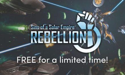 Δωρεάν για περιορισμένο χρόνο το Sins of a Solar Empire: Rebellion