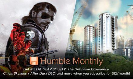 Metal Gear Solid V και Cities : Skylines με 10 ευρώ στο Humble Bundle Monthly
