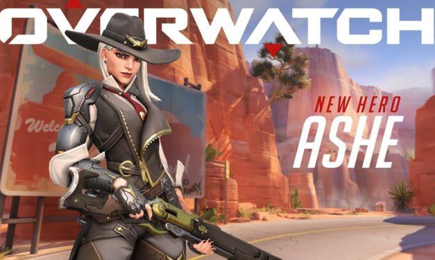 New hero : Ashe