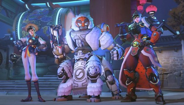 Tα overwatch skins του year of the pig event