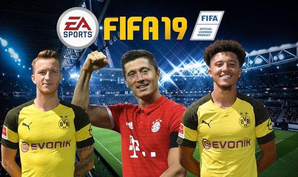 FIFA 2019 Team Of The Season Bundesliga.