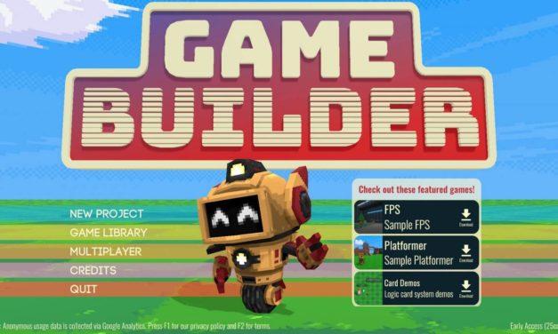 Game Builder – φτιάξε το δικό σου παιχνίδι!