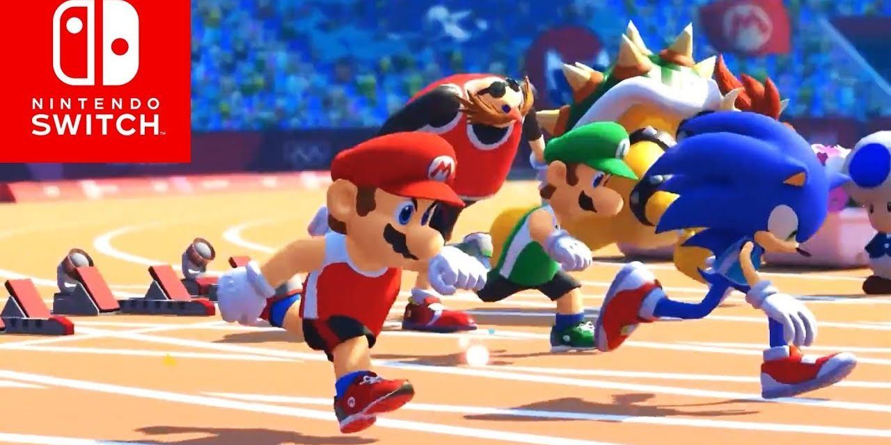 New Luigi's Mansion 3 and Super Mario & Sonic at the Olympic Games in 2019