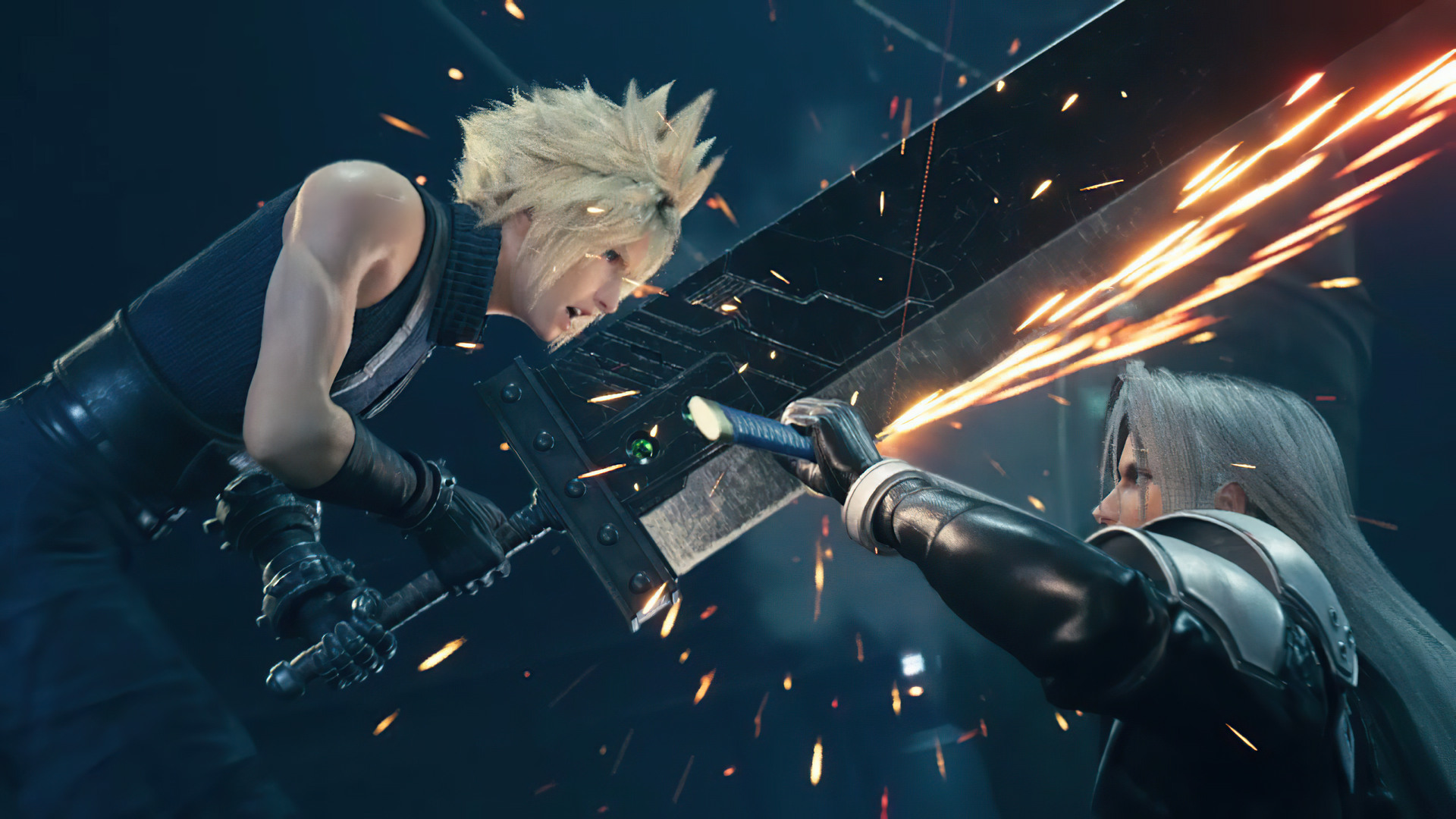 cloud vs sephiroth final fantasy vii