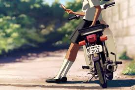 Honda Super Cub shines in 'Weathering With You' anime film ...