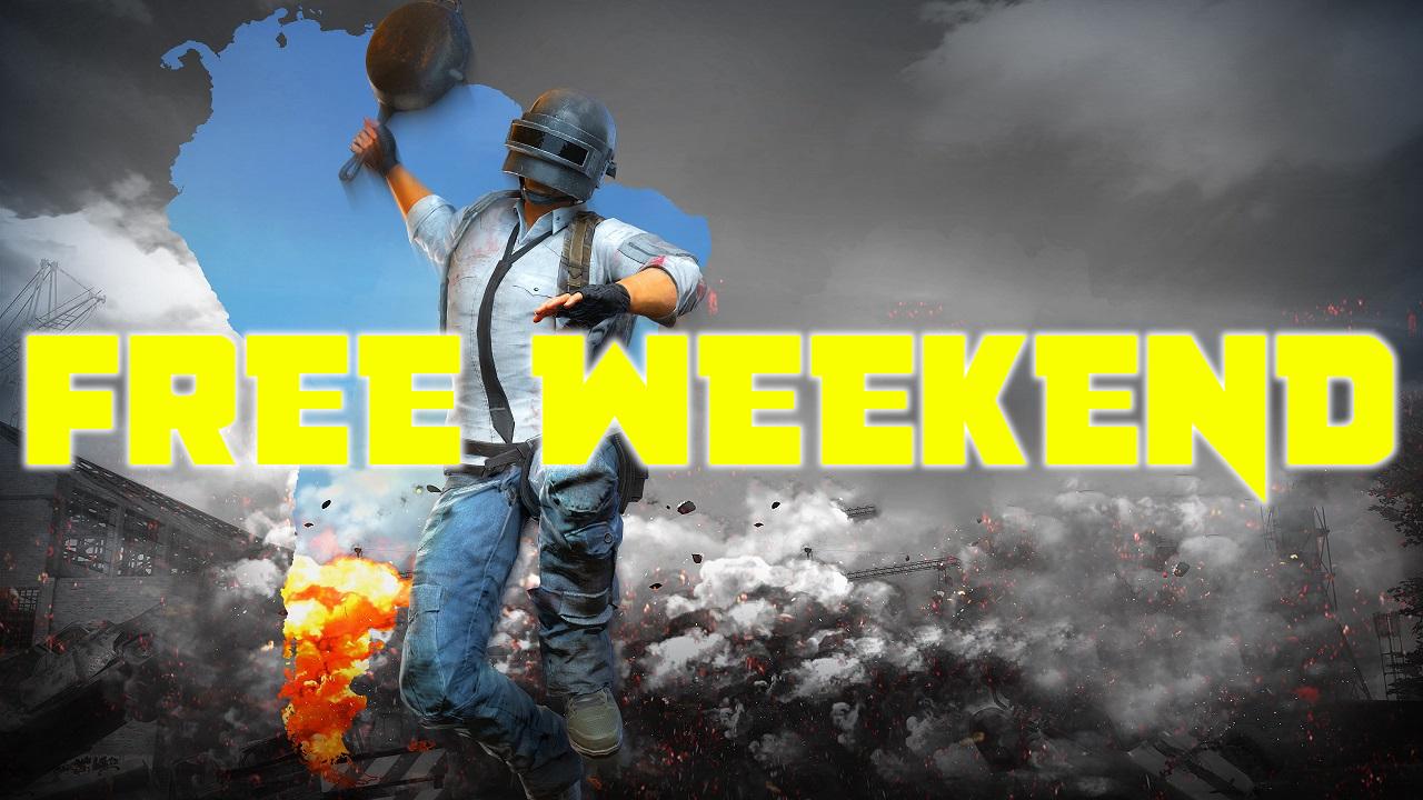 Free Weekend στο PUBG