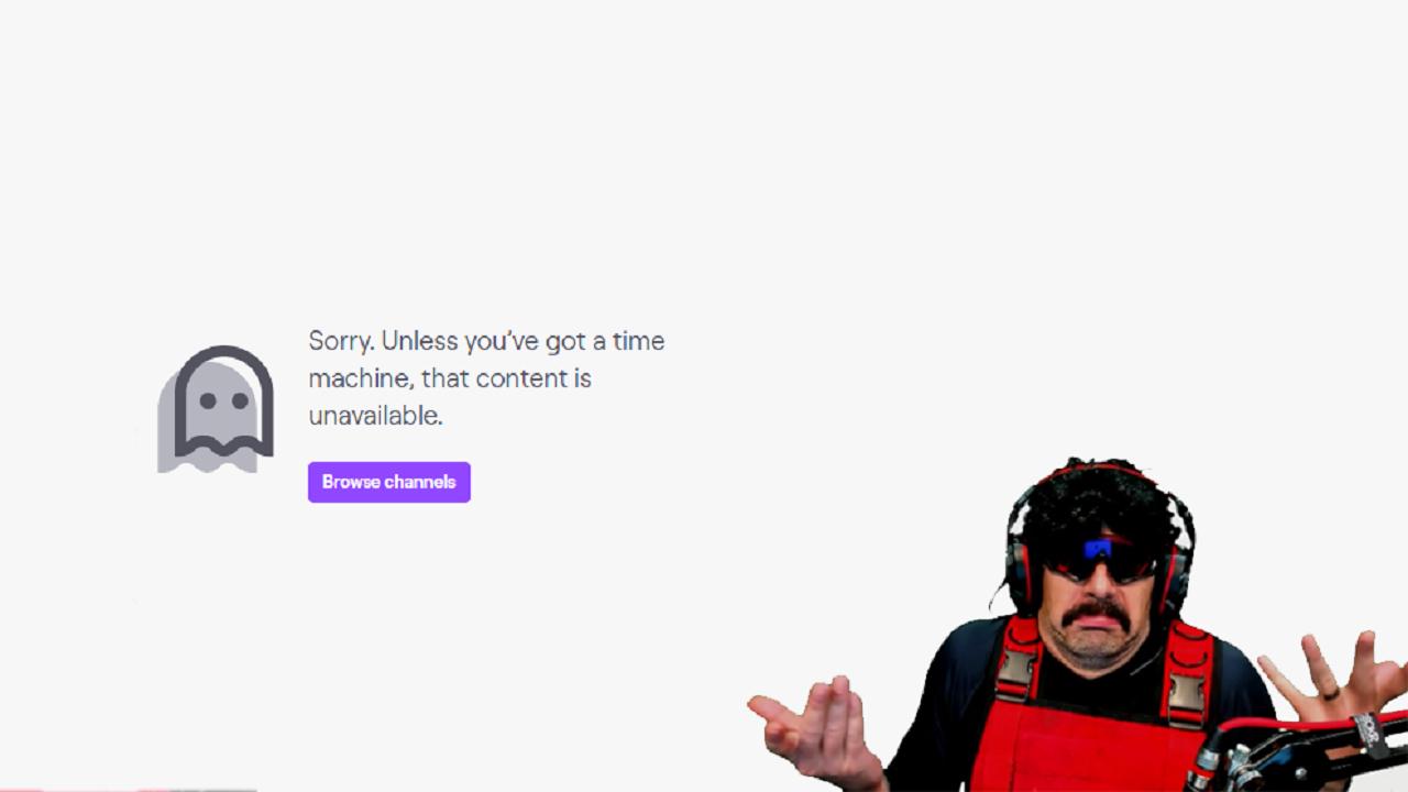 Ο DrDisrespect έφαγε ban από το Twitch