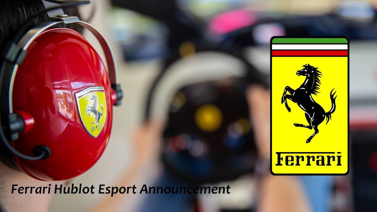 Η Ferrari μπαίνει στα eSports!