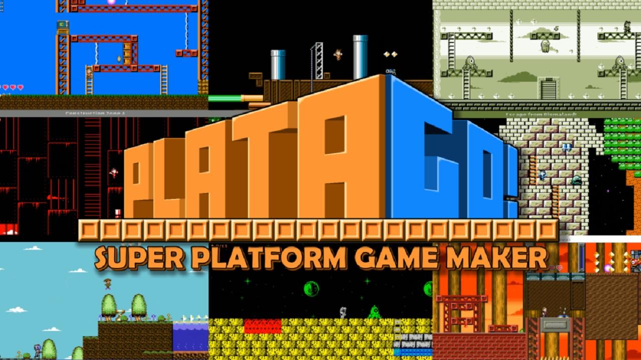 PlataGO! Super Platform Game Maker: Φτιάξτε τα δικά σας παιχνίδια στο Switch με 1€!
