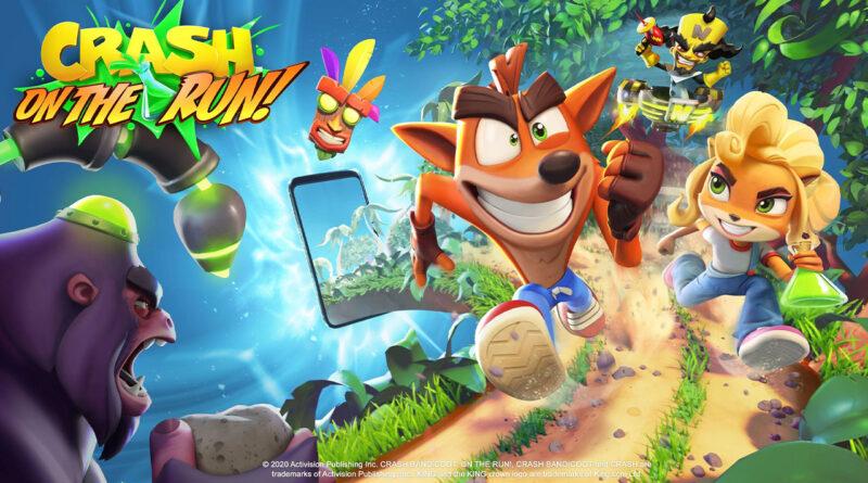 Crash Bandicoot : On The Run!