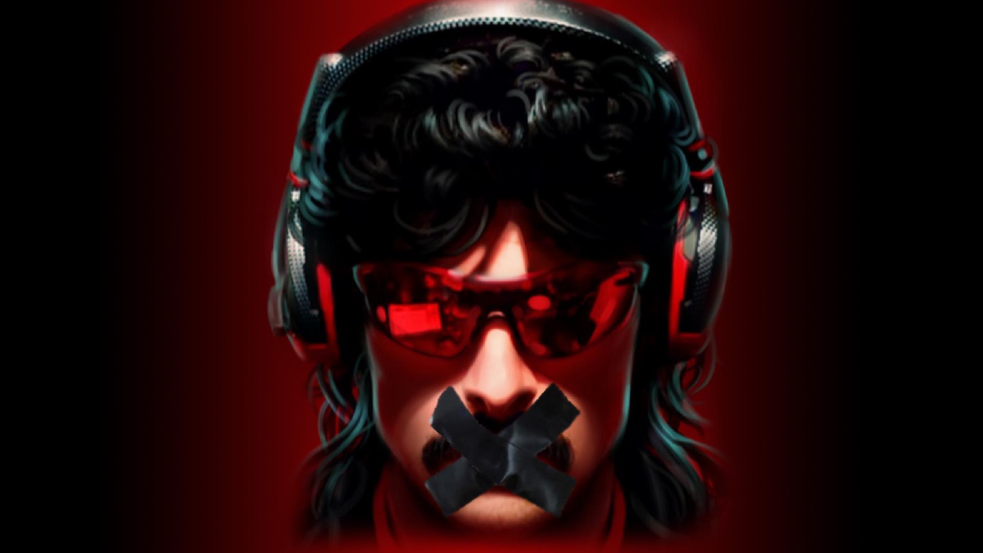 Dr Disrespect : Η σιωπή γύρω από το ban του sto Twitch