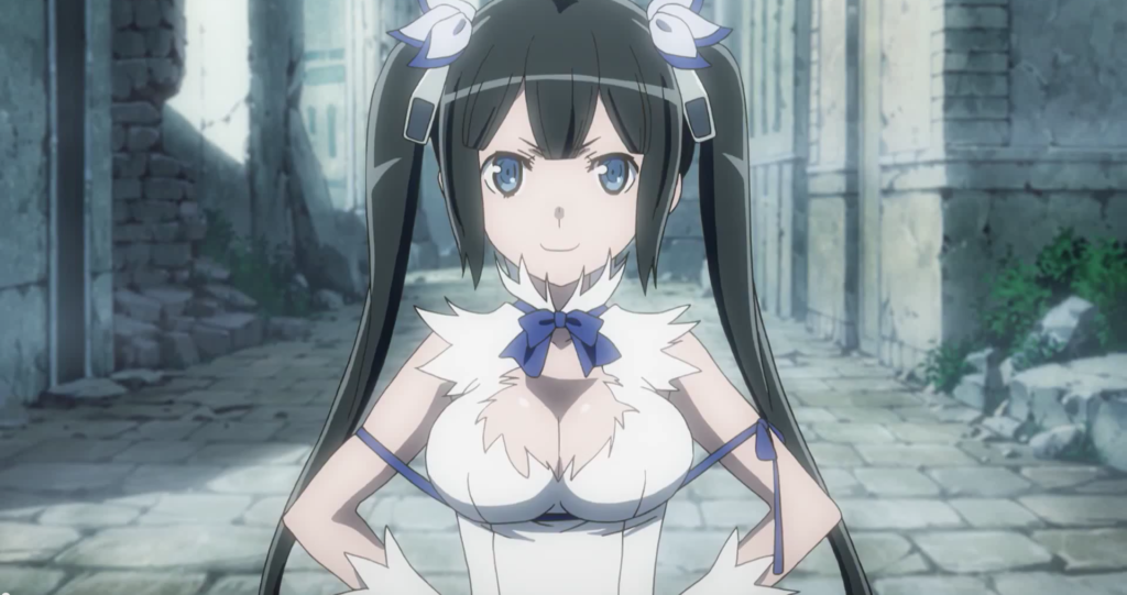 Hestia is it wrong to pick up girls in a dungeon