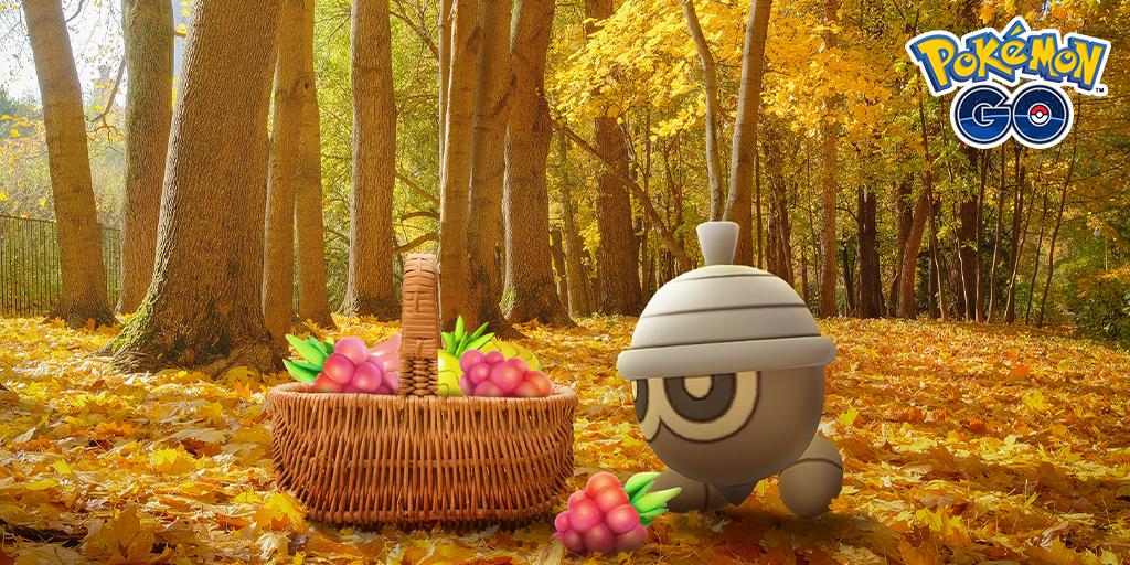 Autumn-themed Pokémon event !