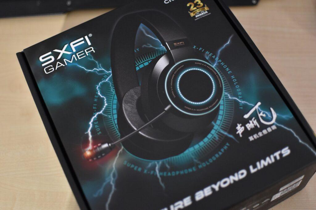 Creative SXFI Gamer – Headset Review