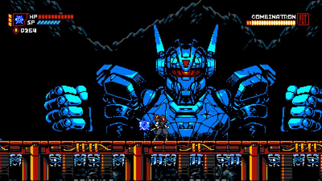 Cyber Shadow Boss